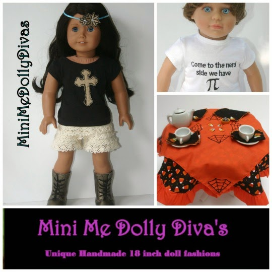 Mini Me Dolly Diva's