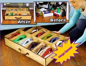 Harga Grosir Shoes Under Organizer Murah Alat Untuk Menyimpan Sepatu Praktis Termurah