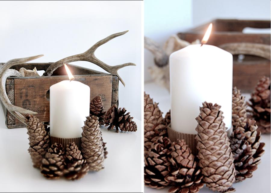 10 ideas para una navidad natural decoraci n for Natural burguer mesa y lopez