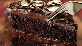 Fudge Recipes - Homemade-Chocolate-Fudge=cake