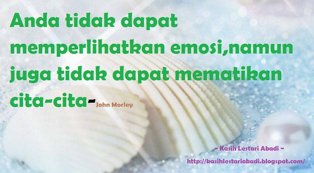 emosi,cita-cita,kata-kata hikmah,2013