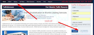 Sign Up trafficmonson
