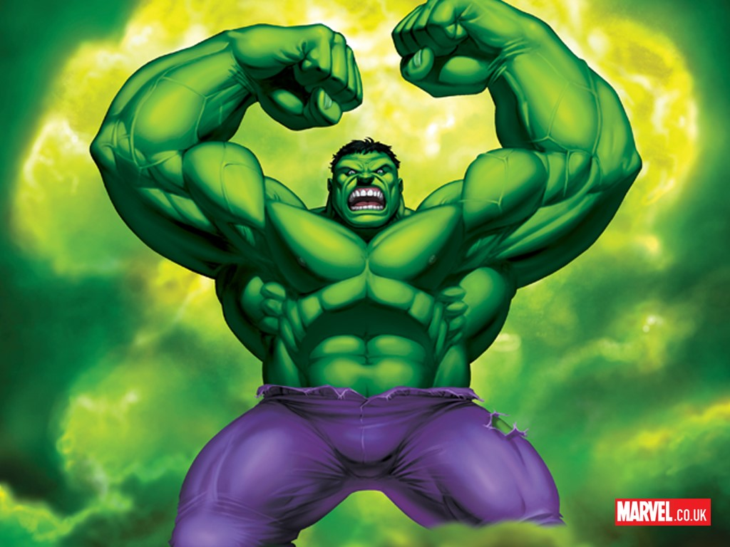 Incredible Hulk Face Cartoon