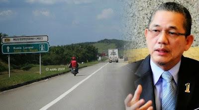 Motosikal Bakal Diharamkan Guna Lebuhraya MEX & AKLEH