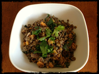 Recipe: French lentils with bacon