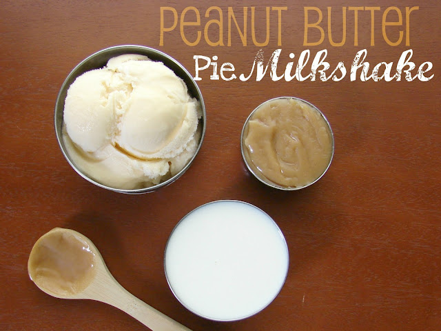 Peanut Butter Pie Milkshake #recipe from @KatrinasKitchen