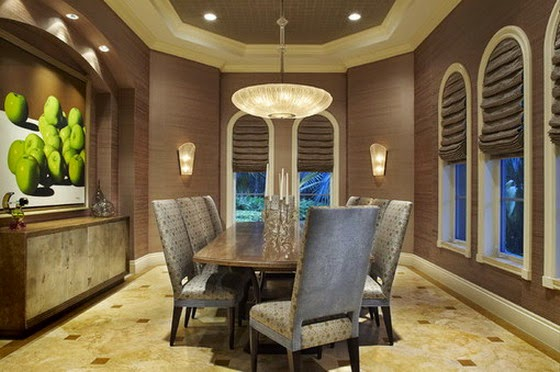 Arranging your Dining Room Furniture in Small Space | Home Decorating Ideas