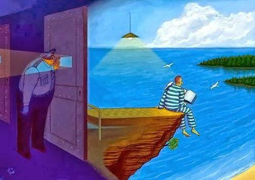 tutuklunun engin dünyası
