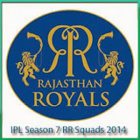 IPL Season 7 Rajasthan Royals Teams Profile and Squads Profile IPL7 Schedule 2014
