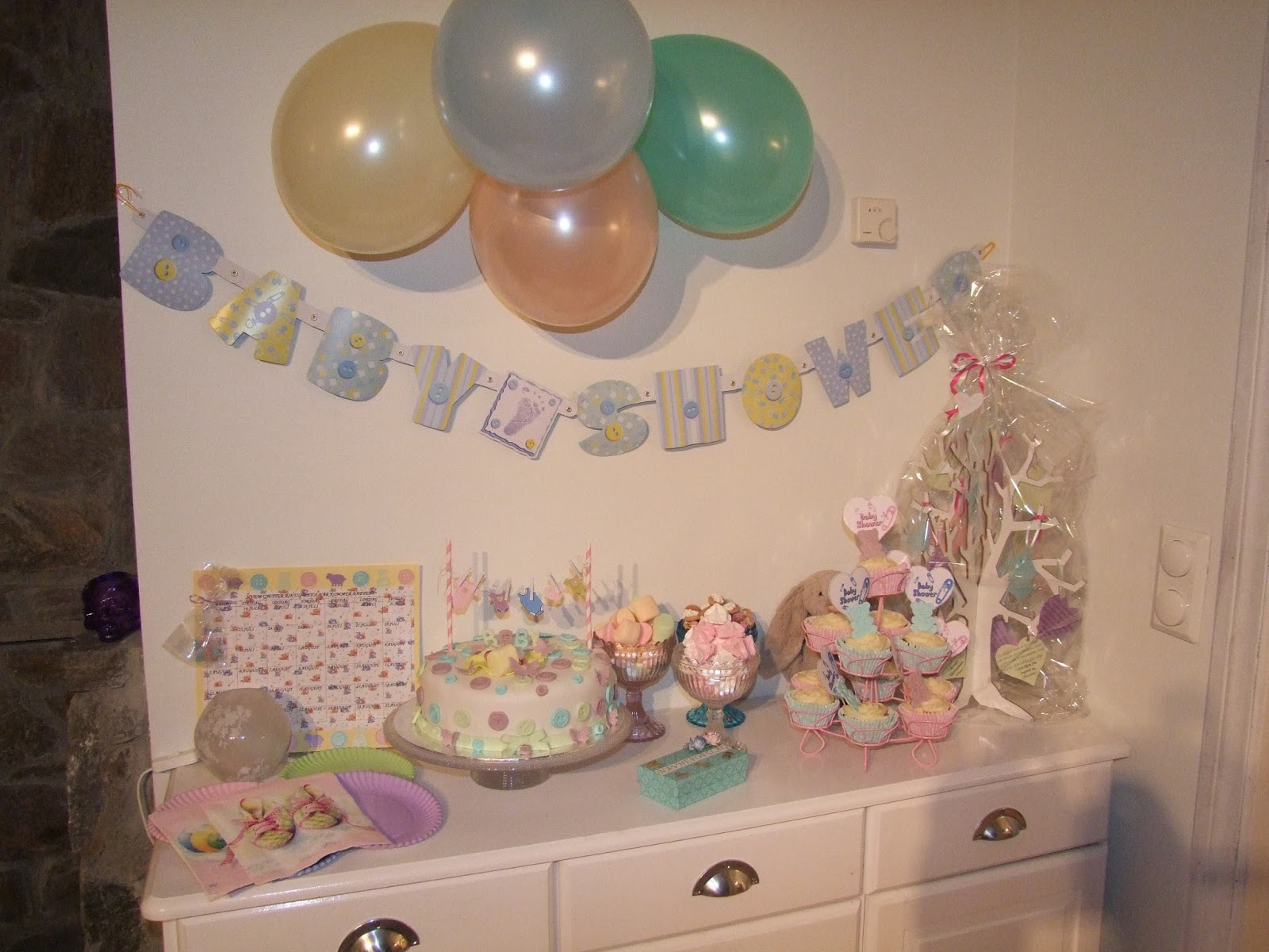 arrangere baby shower