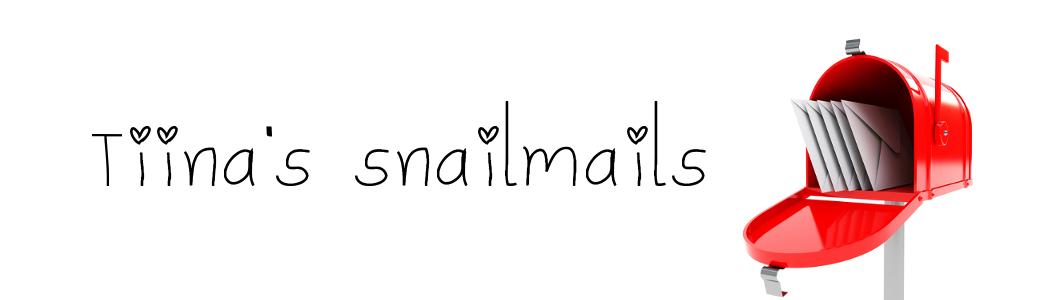 Tiina's snailmails