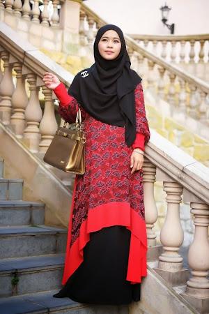 Cantik Jelita Dengan Dress Chiffon Lace Yang Sangat Memukau Pandangan