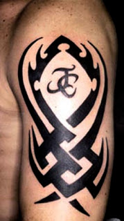celtic full arm tribal tattoo designs