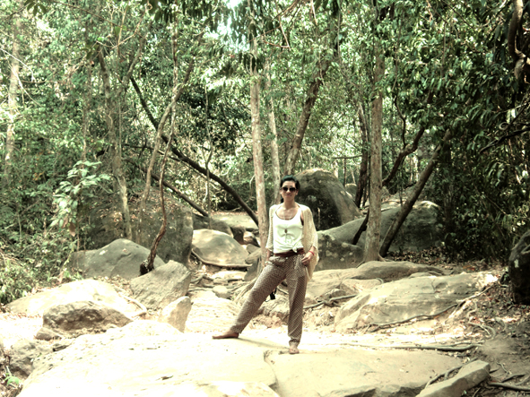 Kbal Spean Hike, out of Angkor