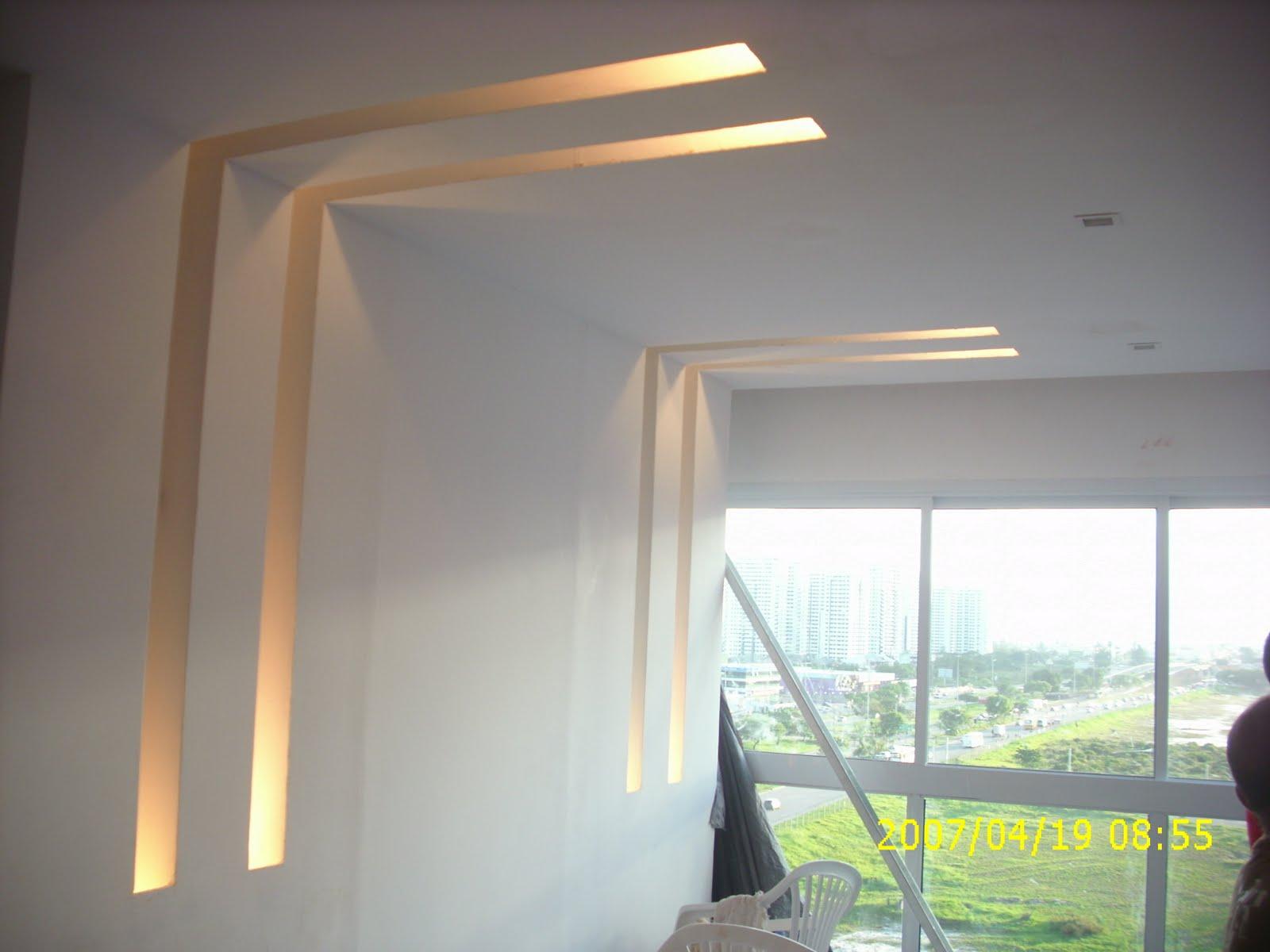 Santa Sanca Decorações em Gesso Drywall e Reformas Residenciais e  #B1B714 1600x1200 Banheiro De Gesso Acartonado