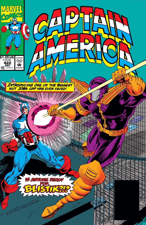 Captain America (1968) Issue #422 #372 - English 1