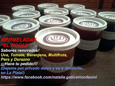 """MERMELADAS """"EL ÑOQUI"""""""