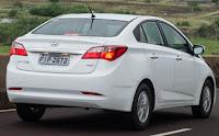 Novo Hyundai Hb20s sedan branco