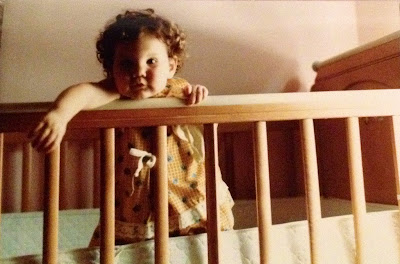 Throwback Thursday, #tbt, curly hair, hair, hairstyle, Jamie Allison Sanders, toddler, baby, naptime, napping