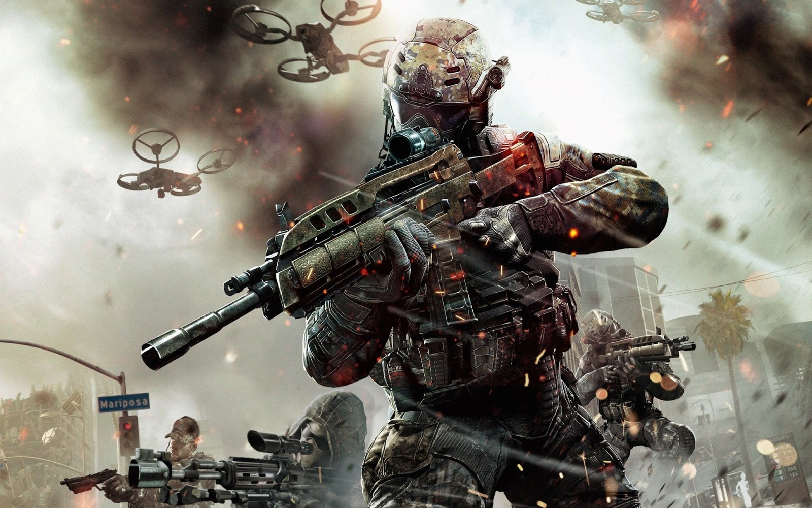 throughout playing black ops iii the player can expect to see a lot of violence and warfare which hasn t really changed since that is what call of duty is