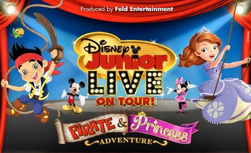 Disney Junior Live on Tour Pirate & Princess Adventure