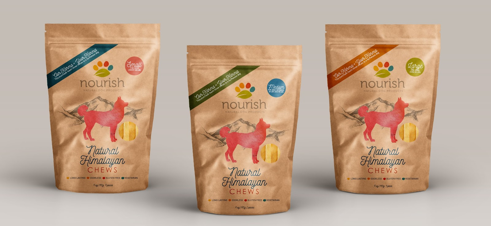 Dog Food Packaging Material