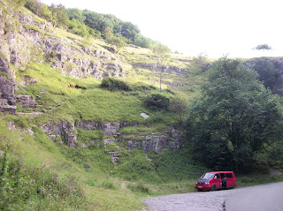 Cliffs at cheddar gorge