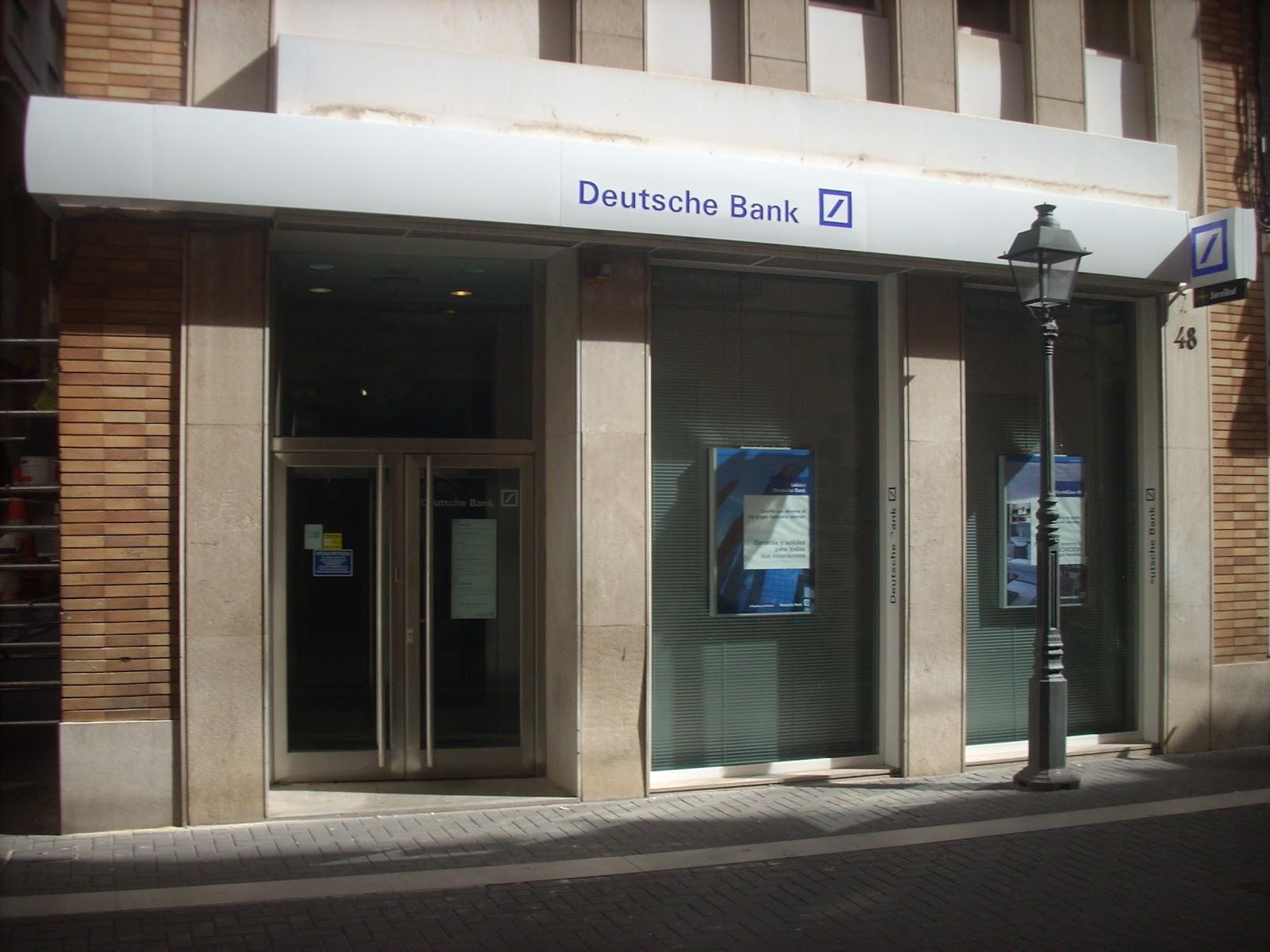 Montarotul montajes profesionales restyling deutsche bank for Oficinas de deutsche bank en madrid