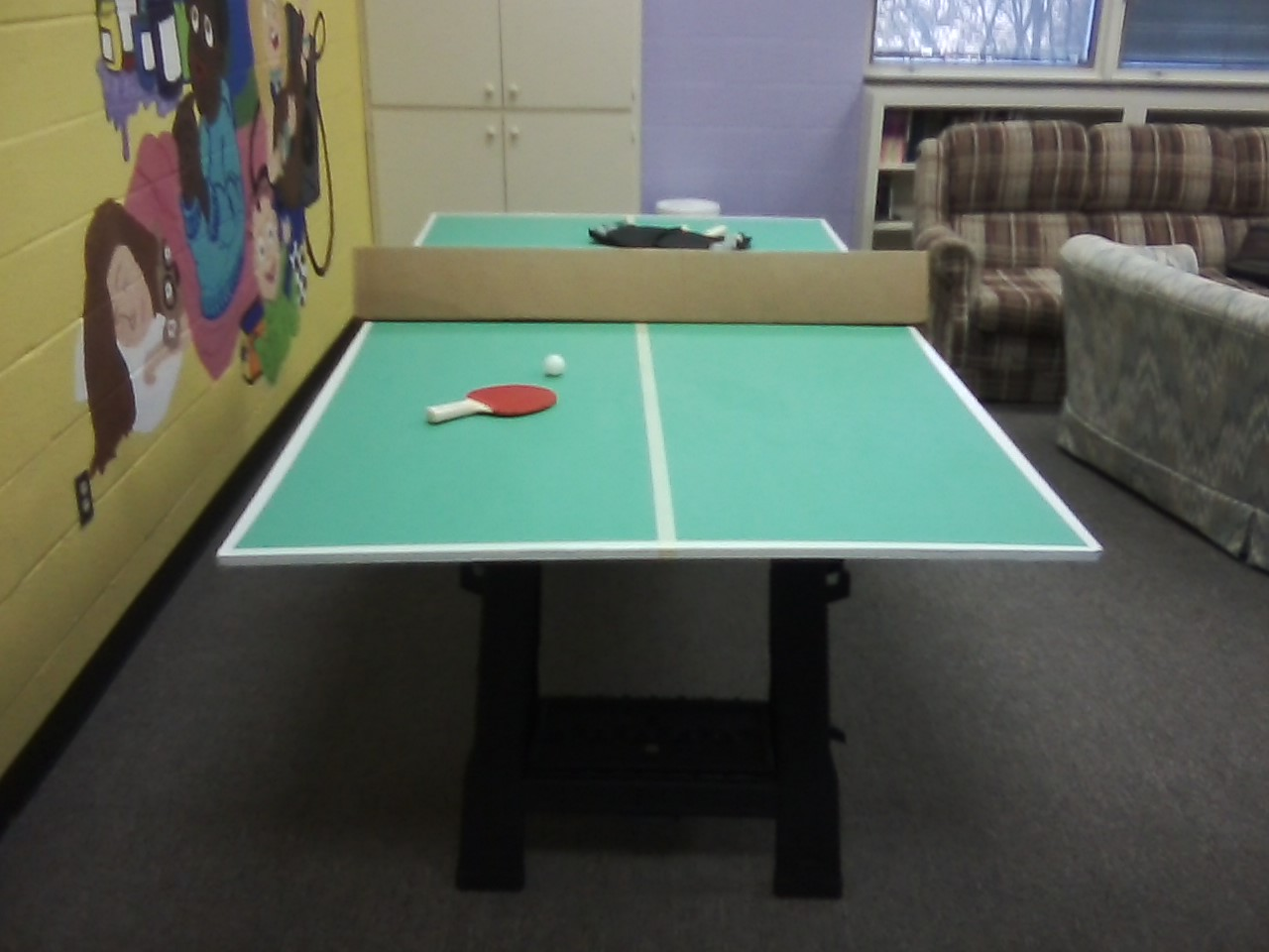 My Homemade Ping Pong Table