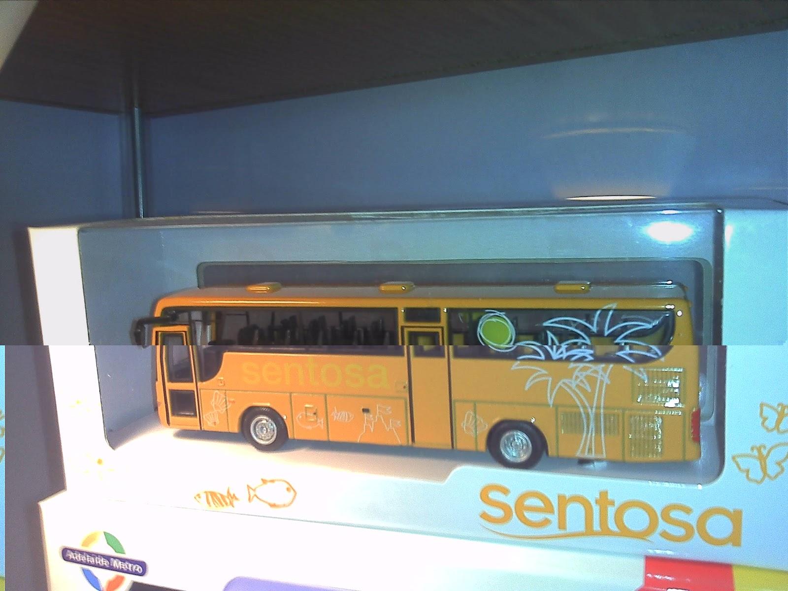 Toy 玩具: Sentosa Bus Volvo B7R