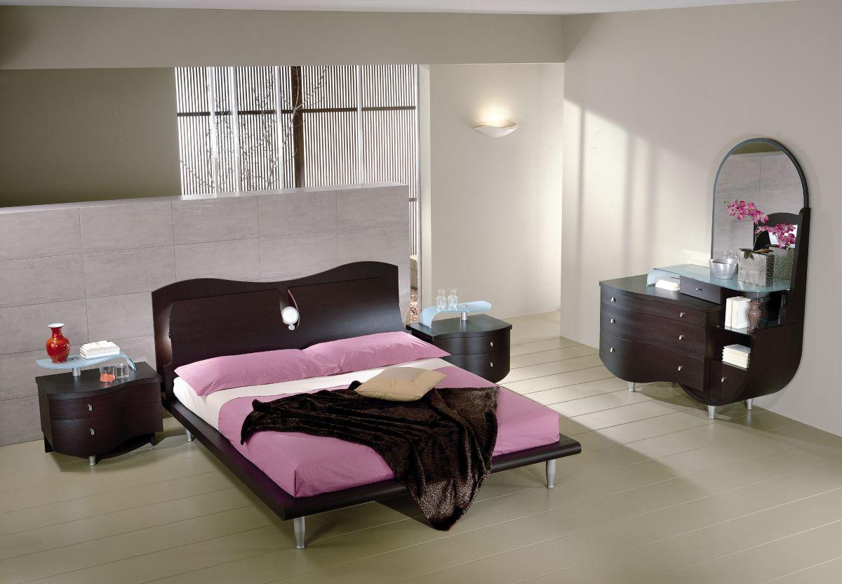 Come arredare casa camere da letto moderne - Camera da letto bianca moderna ...