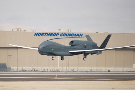 produsen pesawat terbang Northrop Grumman Corporation