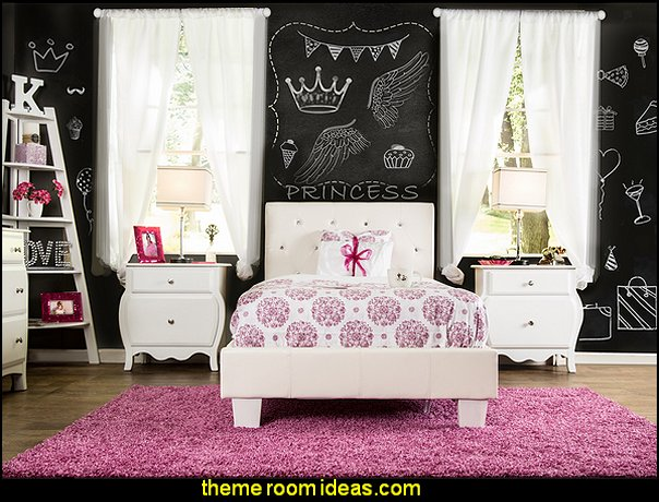 Decorating theme bedrooms maries manor girls bedrooms for Girl themed bedroom ideas