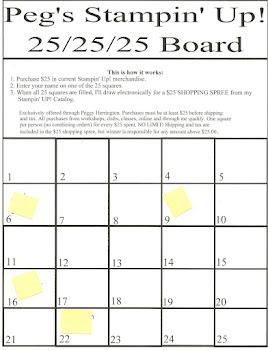 My 25-25-25 Board