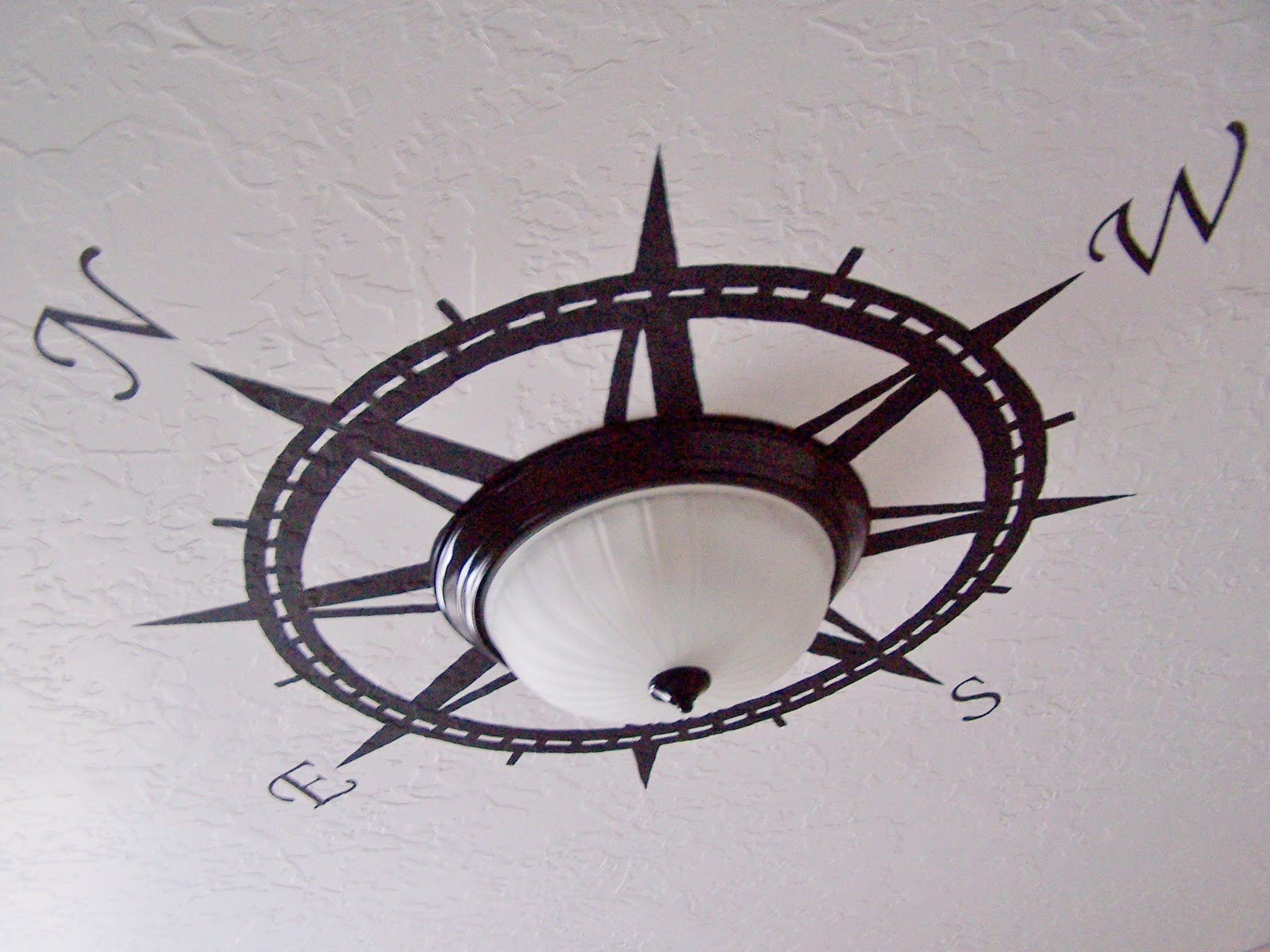 Nautical Bathroom Light Fixture: Batchelors Way: Up Date On Pirate Room