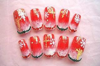 Christmas Nail Art Designs -11