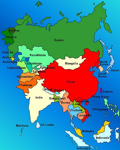 heograpiya ng hilagang asia