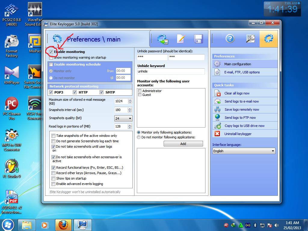 Premium-версия spyshelter stop-logger, совместимая с windows x64