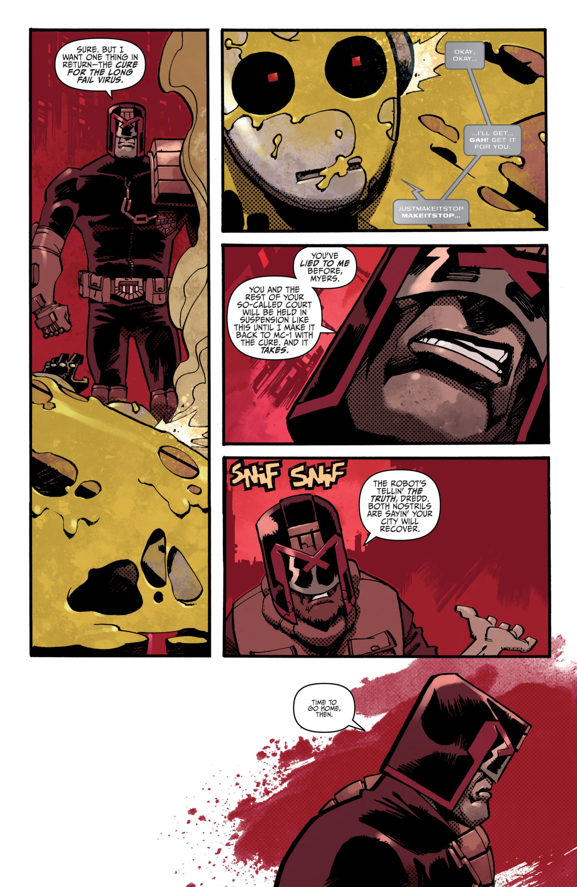 Read online Judge Dredd (2012) comic -  Issue # _TPB 3 - 91
