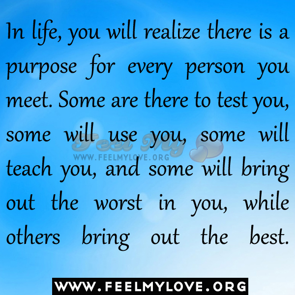 purpose in life test A life purpose is essential to enjoy life and stay on course when things get tough  find your purpose in your mission, career, or a hobby with the.