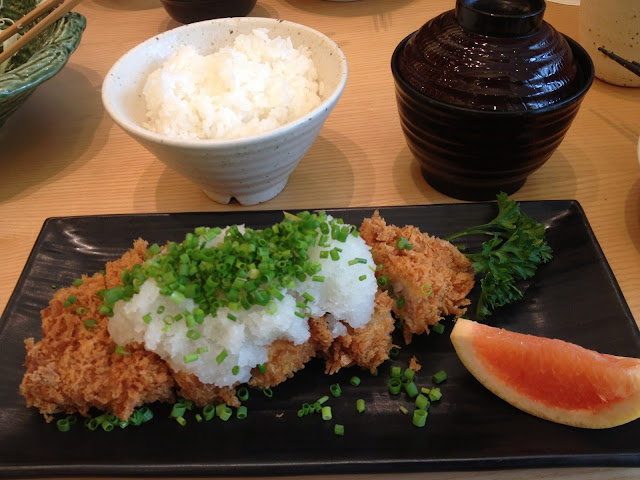 Saboten's Grated Radish Tenderloin Set