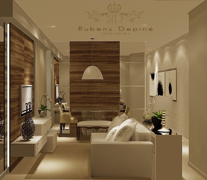 Sala De Estar Pequena Clean ~ 20 sala de estar de frente para sala de jantar