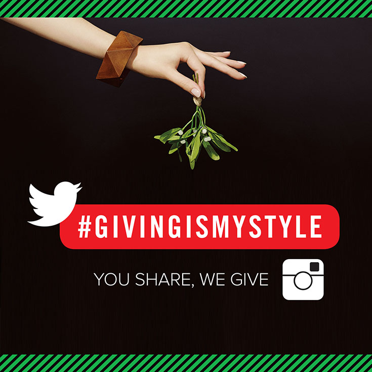 Find out how you can give to six different charities just by sharing with the hashtag #GivingIsMyStyle on Twitter and/or Instagram thanks to Paul Mitchell!