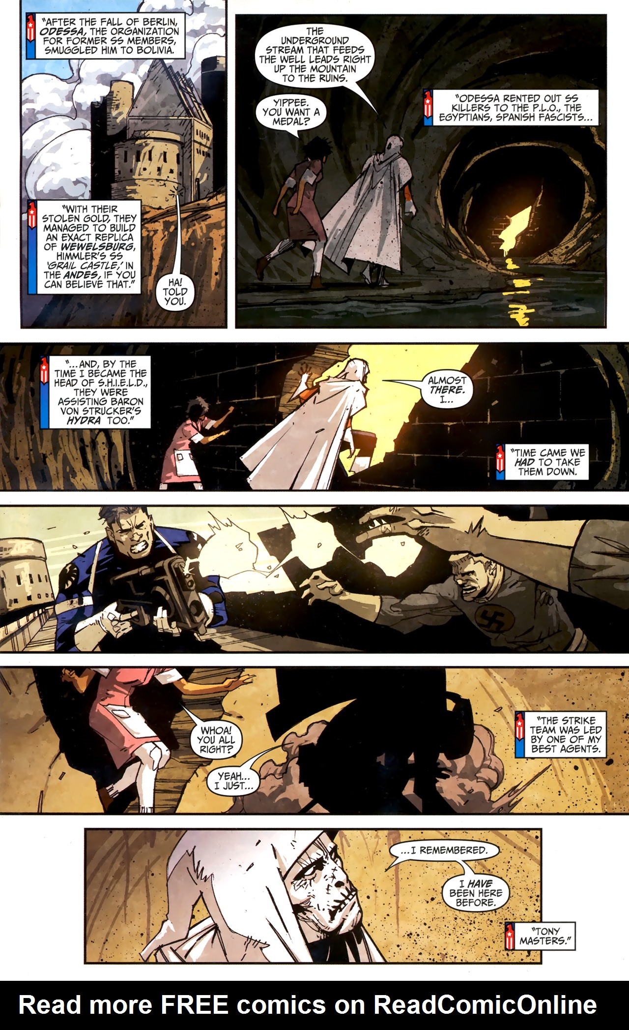 Read online Taskmaster (2010) comic -  Issue #3 - 12