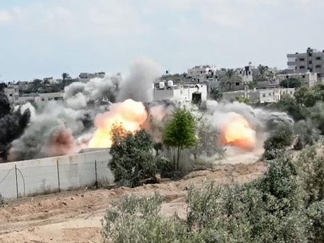 كيف ابتلعت منازل غزة جنود الاحتلال؟