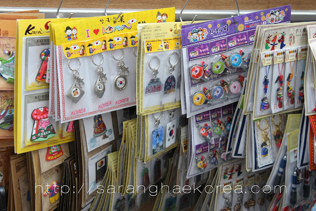 Souvenir items in Korea