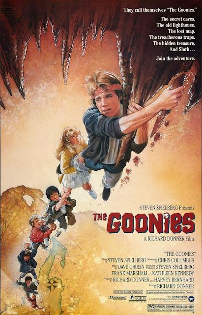 "Cartaz, sinopse e trailer do filme ""Os Goonies"", de 1985"