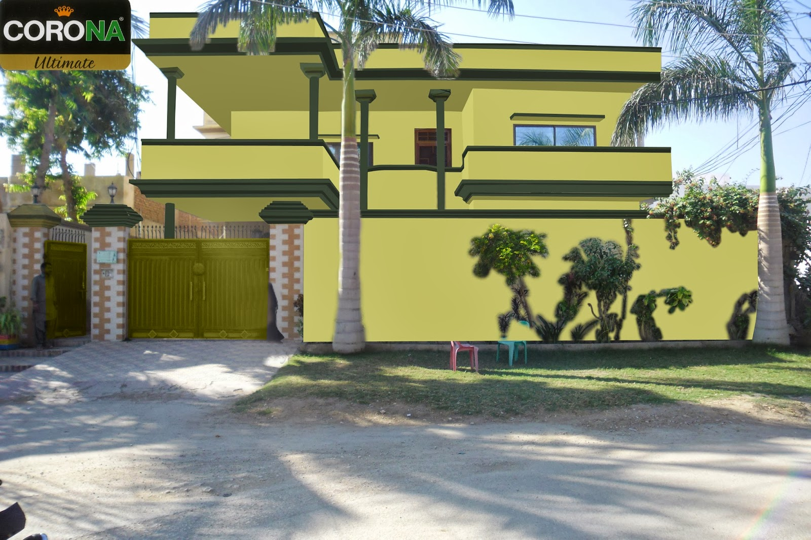 Paints Of Ideas: Evaluation Of Exterior Wall Colour