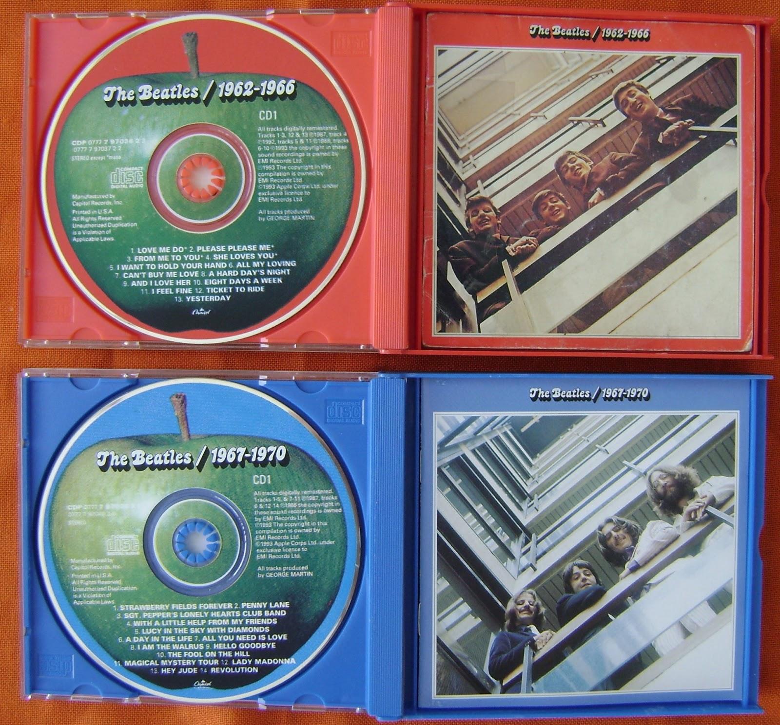 Beatles Album 1 1 The Beatles / 1962-1966 Red
