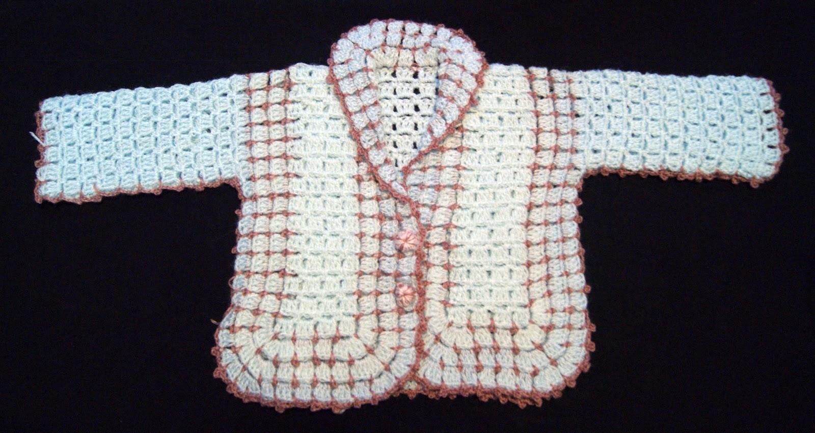 Kissa mis cosas a ganchillo chaquetas para bebes - Cosas a ganchillo ...